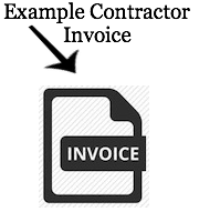 Example Contractor invoice